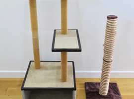 CAT STAND - VERY STRONG & STURDY - HOME MADE - GOOD CONDITION