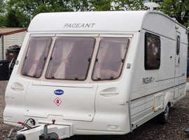 Bailey Pageant 2 berth Caravan 2001
