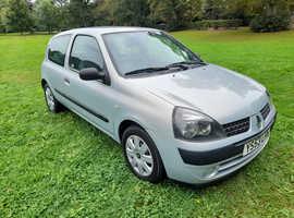Renault Clio, 2003 (53) Silver Hatchback, Manual Diesel, 108,868 miles