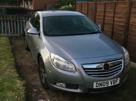 SPARES OR REPAIR Vauxhall Insignia, 2009 (09) Silver Hatchback, Manual Diesel, 134,108 miles