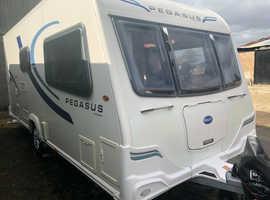 Bailey Pegasus Genoa SII 2 berth touring Caravan