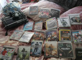PlayStation 3 20 games 1 controller