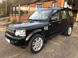 Land Rover Discovery, 2010 (10) HSE, Automatic Diesel, 62,000 miles