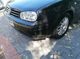 Volkswagen Golf, 2002 (02) Black Hatchback, Manual Petrol, 141,000 miles