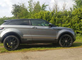 Land Rover Range Rover Evoque, 2014 (63) Grey Coupe, Manual Diesel, 37,500 miles
