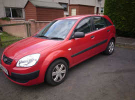 Kia Rio, 2006 (55) Red Hatchback, Manual Diesel, 100,107 miles