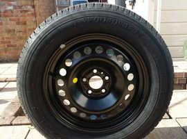 Jeep Cherokee 2014 onwards spare steel rim/tyre