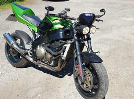 Kawasaki zx6r street fighter 600cc