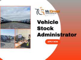 Job Vacancy - Vehicle Stock Administrator
