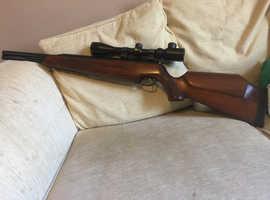 Two air rifles