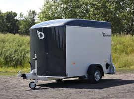 Debon Roadster C300 Single Axle Box Van Trailer in Anthracite