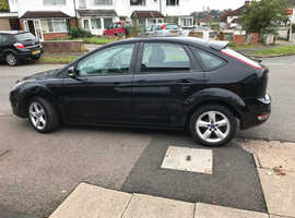 Ford Focus, 2011 (60) Black Hatchback, Manual Petrol, 133,944 miles