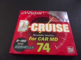 "Victor D CRUISE 74. ""Very Rare"" collectible recordable Minidisc"