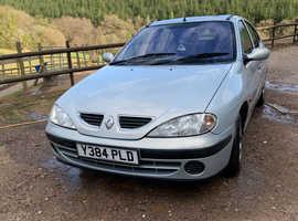 Renault Megane, 2001 (Y) Silver Hatchback, Manual Petrol, 123,234 miles