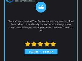 Looking for 5* home care support for your loved one?