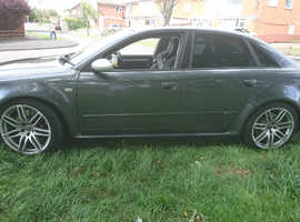 Audi rs4 b7 2006 (56) Grey Saloon, Manual Petrol, 99,000 miles