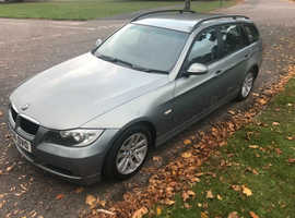BMW 3 Series, 2006 (06) Green Estate, Automatic Petrol, 70,891 miles
