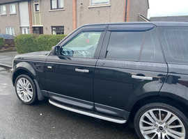 Land Rover Range Rover Sport, 2006 (06) Black Estate, Automatic Diesel, 140,308 miles