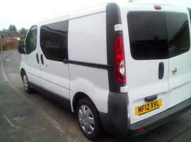 2012 Nissan Primastar campervan, brand new build.