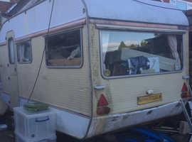 Old caravan no longer required