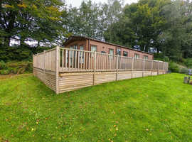 A JAW-DROPPING ABI Ambleside LODGE 40ft x 13ft that you will never want to leave