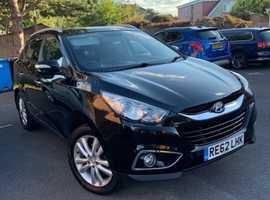 Hyundai Ix35 Premium 4WD CRDi  (62) Black Automatic Diesel, 63,759 miles