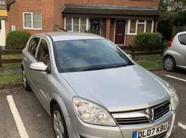 Vauxhall ASTRA CLUB 16V, 2007 (07), Manual Petrol, 101,012 miles
