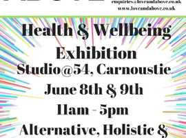 Health & Wellbeing Fete Carnoustie 2019