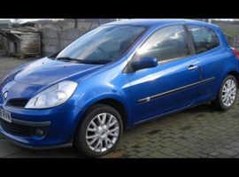 Renault Clio, 2008 (08) Blue Hatchback, Manual Diesel, 120,000 miles