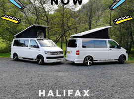 Sunbeam T5  VW Transporter campervan hire from £80 per day Fully insured with full breakdown and roadside assistance. Prices vary depending on which c