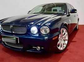 Jaguar Xj, 2007 (57) Blue Saloon, Automatic Diesel, 112,000 miles