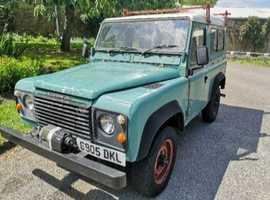 Land Rover LR 90 4C REG, 1985 (C) Green 4x4, Manual Diesel, 100,000 miles