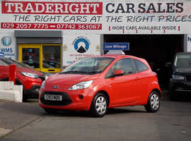 2013/13 Ford KA 1.25 Edge finished in Coral Red., 40,977 miles