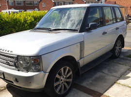Land Rover Range Rover, 2003 (53) Silver Estate, Automatic Petrol, 126,000 miles