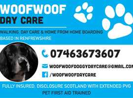 WOOFWOOF DAY CARE SERVICES