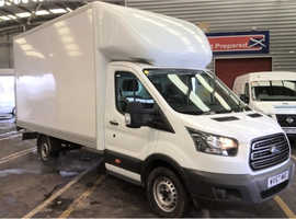 2017 - 67 Ford Transit 2.0TDCi 350 ( 130 BHP ) LUTON LWB WITH TAIL LIFT