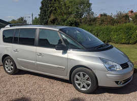 Renault Espace, 2011 Silver MPV, Automatic Diesel, 61,589 miles