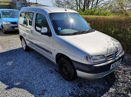 Citroen Berlingo, 2001 (51) Silver Estate, Manual Diesel, 71,114 miles