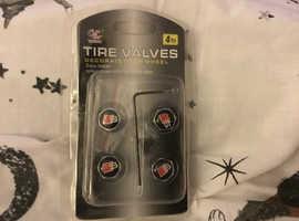 Audi s-line tire valves