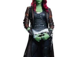 Guardians of the Galaxy Gamora Costume Coat