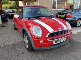Mini MINI, 2002 (02) Red Hatchback, Manual Petrol, 96,000 miles