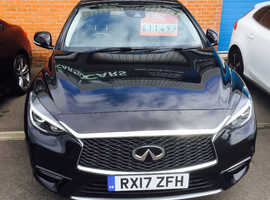Infiniti Q30, 2017 (17) Black Hatchback, Manual Diesel, 23,241 miles