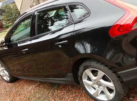 Volvo V40, 2014 (14) Black Hatchback, Automatic Diesel, 96,544 miles