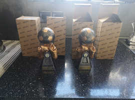 4 x Brand new Boxed Trophies