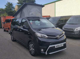 TOYOTA PROACE MATINO 2 BY WELLHOUSE DESIGN GRADE 2.0 120BHP 6 SPEED MANUAL choice of 4 colours
