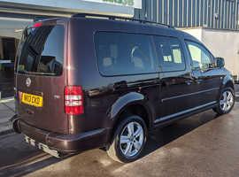 Volkswagen Caddy Maxi 1.6TDI Life | Wheelchair ramp | Low Mileage | 12 Mth Warranty