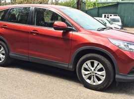 Honda CR-V, 2015 (15) Red Estate, Manual Petrol, 46,000 miles