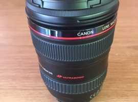 Canon EF 24-105mm 1:4IS USM L series zoom lens
