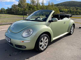 2007 (57) Volkswagen Beetle, 2007 (57) 1.6 Petrol Convertible, 12 months MOT, drives lovely!