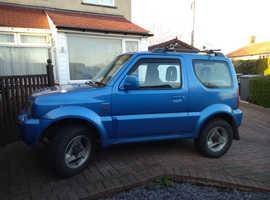 Suzuki Jimny, 2002 (02) Blue Estate, Manual Petrol, 90,000 miles